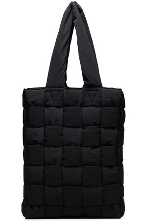 Bottega Veneta Black quilted tote bag