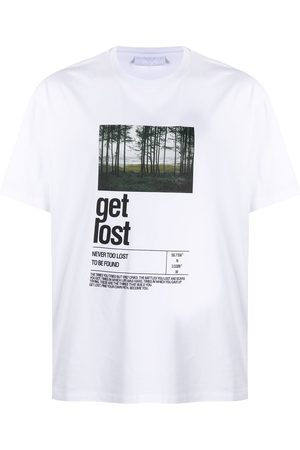 Neil Barrett Get Lost print T-shirt