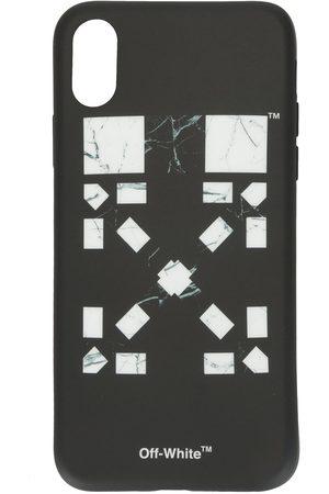 OFF-WHITE Móvil - Funda para iPhone XR con motivo Arrows jaspeado de x Vancouver