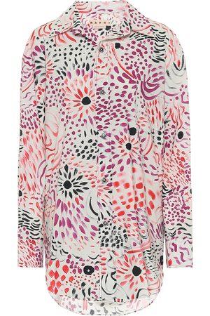 Marni Camisa de algodón floral
