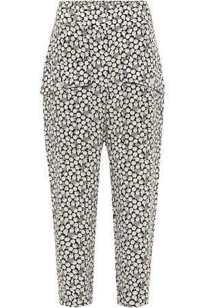 Stella McCartney Pantalones Cecilia de seda