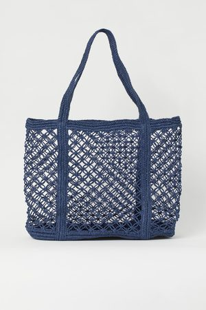H&M Bolsa shopper de red