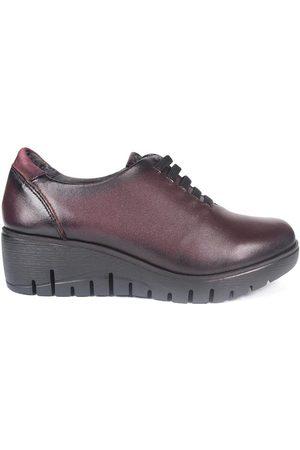 Fluchos Zapatos Mujer Zapatos F0698 Burdeos para mujer