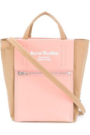 Acne Studios Bolso shopper con logo estampado