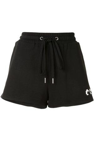 MOSTLY HEARD RARELY SEEN Pantalones cortos de deporte con cordón y logo