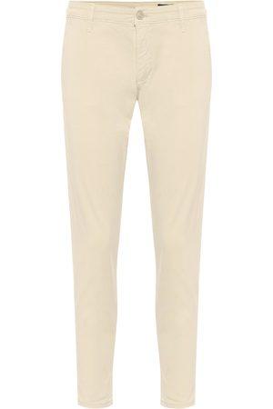 AG Jeans Pantalones Caden cropped de algodón