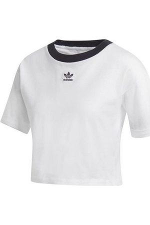 adidas Camiseta Crop Top para mujer