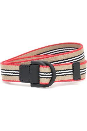 Burberry Cinturón de doble anillo en D