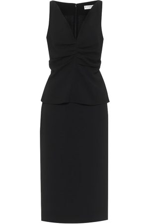 Givenchy Vestido midi de lana