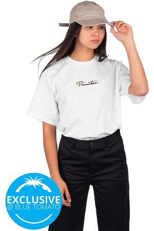Primitive Mujer Manga corta - Mini Nuevo Gold Foil T-Shirt blanco