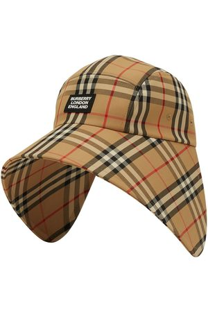 Burberry Vintage Check bonnet cap