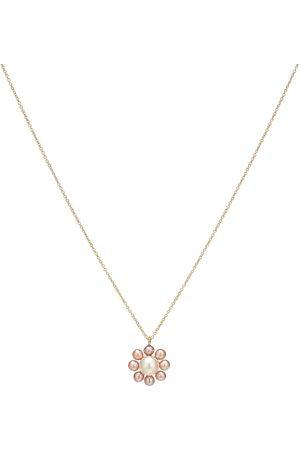 SOPHIE BILLE BRAHE Exclusivo en Mytheresa – collar Margherita Rose de oro de 14 ct y perlas