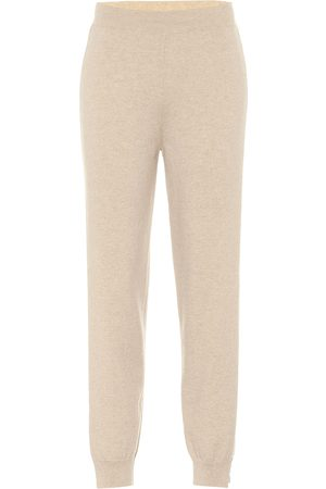 Stella McCartney Pantalones de chándal de cachemir