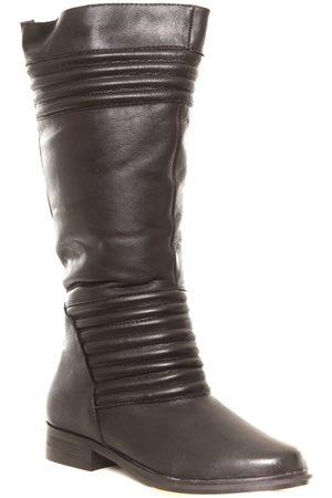 Cassis côte d'azur Botas de agua Ilario Ferucci Bottes en cuir Galeane noir para mujer