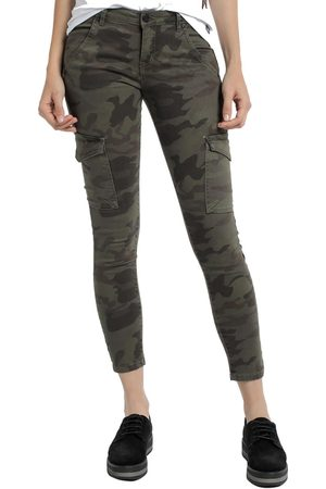 Lois Pantalón cargo Pantalon Camouflage Newcargo 948 para mujer