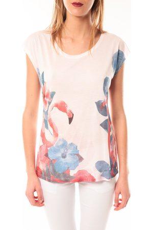 Little Marcel Camiseta T-shirt E15FTSS0231 Tibali Rose poudre para mujer