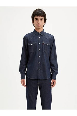Levi's Hombre Camisas - Big Barstow Western Shirt / Red