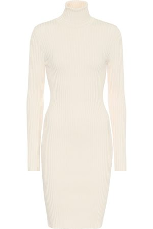 Wolford Vestido corto de lana y algodón elastizado