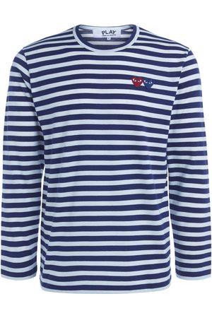 Comme des Garçons Camiseta manga larga Camiseta de hombre de rayas con para hombre