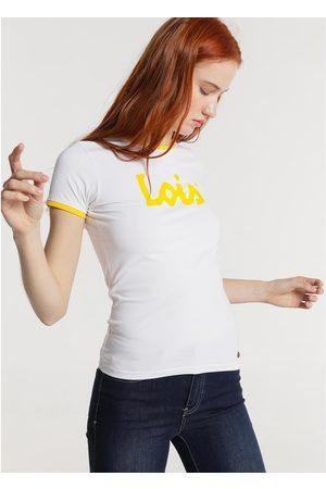 Lois Camiseta T Shirt Blanc 420472094 para mujer