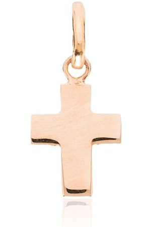 GIGI CLOZEAU Charm en oro rosa de 18kt con motivo de cruz