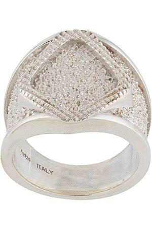 Bottega Veneta Chunky chevalier ring