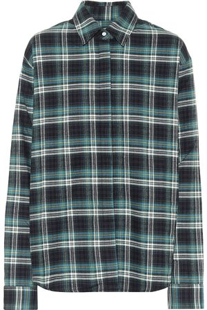 RTA Mujer Manga larga - Camisa Brady de algodón de cuadros