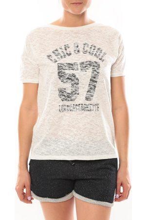 LuluCastagnette Camiseta T-shirt Cool Blanc para mujer
