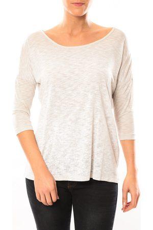Vero Moda Camiseta manga larga Graing 3/4 Long Top 10104538 Blanc/ para mujer