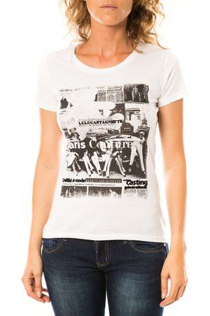 LuluCastagnette Camiseta T-shirt Mag Blanc para mujer