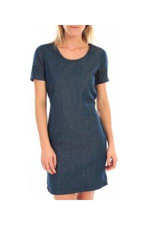 Vero Moda Vestido MY SS SHORT DENIM DRESS Bleu para mujer
