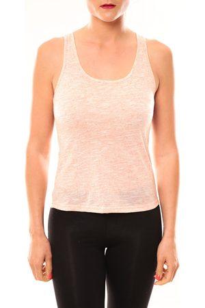 Meisïe Camiseta tirantes Débardeur 50-502SP15 Corail para mujer