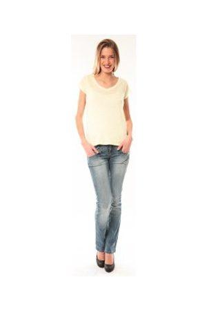 Little Marcel Camiseta T-Shirt Talin E15FTSS0116 Jaune para mujer