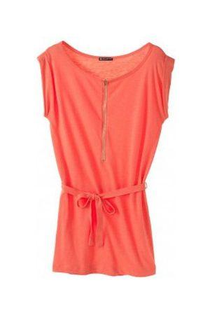 Petit Bateau Vestido Robe femme en jersey flammé 32992 20 Orange para mujer
