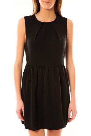 Vero Moda Vestido Robe Noel SL Mini Dress Mix Wall 10087646 Noir para mujer