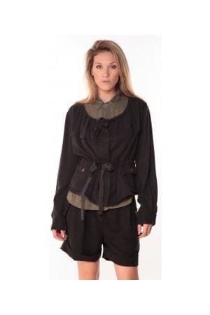 Sack's Chaquetas Veste Woman Noire 21150088 para mujer