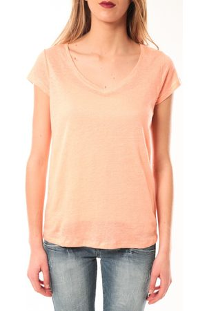 Little Marcel Camiseta T-Shirt Talin E15FTSS0116 Corail Pastel para mujer