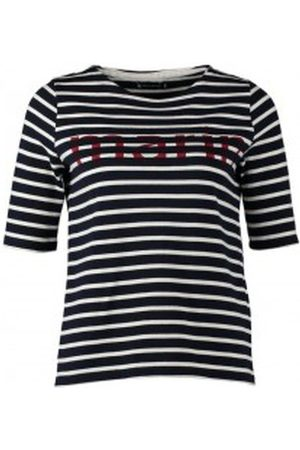 Petit Bateau Camiseta Tee-shirt Marinière 1078949240 Bleu para mujer