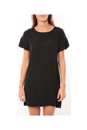 Vero Moda Vestido Reba ss mini dress 10100945 Noir/Saumon para mujer