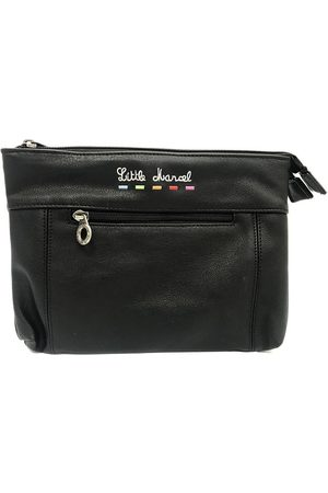 Little Marcel Bolso Pochette ID16-LM-BLACK para mujer