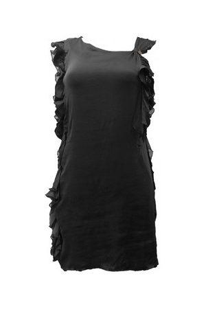 Rich & Royal Vestidos Robe Noir 13Q686 para mujer