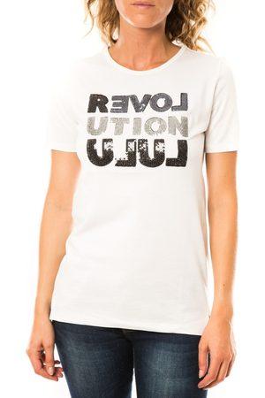 LuluCastagnette Camiseta T-shirt Sequy Blanc para mujer