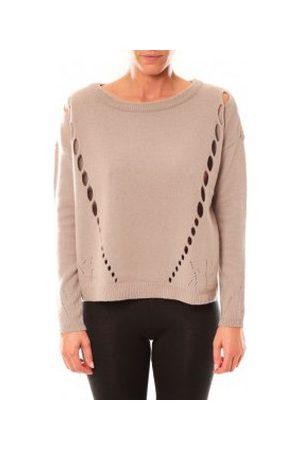 Vero Moda Jersey Parma New LS Oversize Blouse 10119636 Écru para mujer