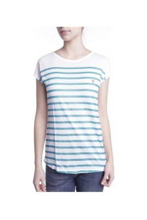 Little Marcel Camiseta T-shirt Doldi Bleu Turquoise para mujer