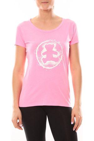 LuluCastagnette Camiseta T-shirt Happy Rose para mujer