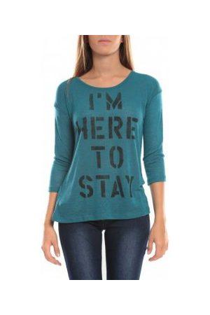 Vero Moda Camiseta manga larga TESSA 3/4 Top 10098264 Vert para mujer