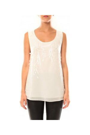 De Fil En Aiguille Camiseta tirantes Débardeur Victoria Karl MX0660 para mujer