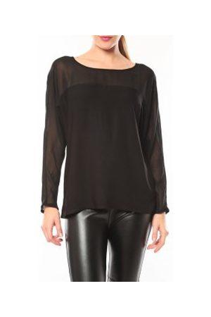 Vero Moda Camiseta manga larga Melnes 7/8 Top 10106830 Noir para mujer