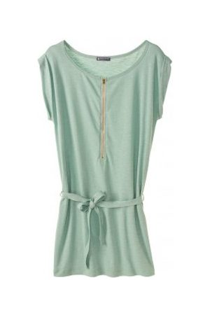 Petit Bateau Vestido Robe femme en jersey flammé 32992 02 Vert para mujer