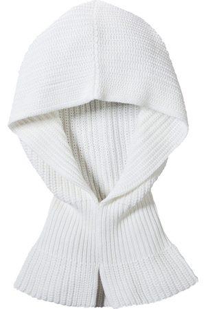 Petit Bateau Bufanda Col Capuche Femme en côte perlée Blanc Lait para mujer